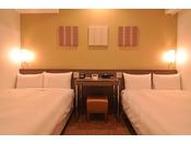 ベッド2台でパーソナルスペースを大事に!