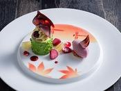 【ZEN・2020年秋】デザートは専属パティシエが手掛ける自慢の一皿を。