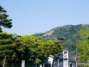 ◆周辺観光◆右大文字(徒歩5分の距離から見えます)