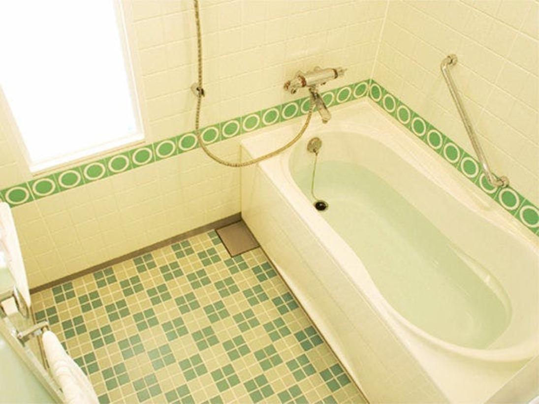 「プレジャールーム」は洗い場が独立している広々としたバスルーム。お子さま連れのお客様にも人気です【サウスサイド(2~8階)】