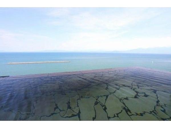 天空野天風呂では錦江湾を一望できます
