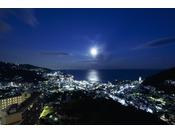 ◇全室オーシャンビュー熱海の夜景と海、そして月を楽しめる◇
