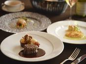 【フレンチフルコース】フレンチと東北の食材のマリアージュをテーマに… ※イメージ