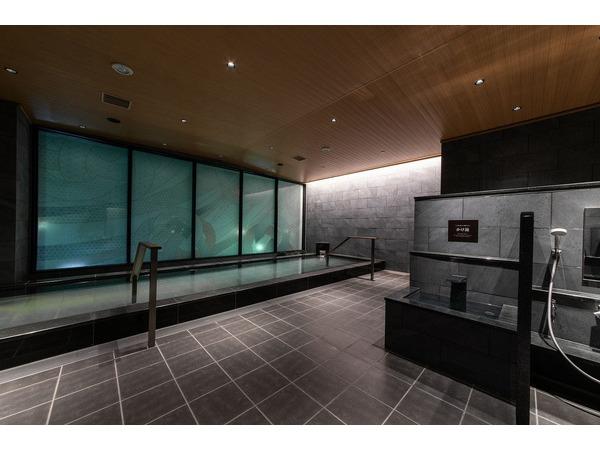 大浴場では人工温泉をお楽しみただけます。