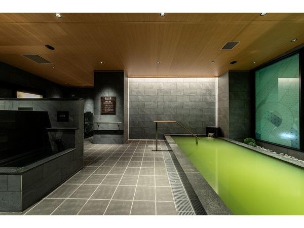 大浴場では人工温泉をお楽しみいただけます
