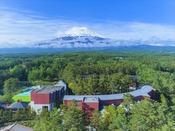 【全景】富士の麓に位置する高原リゾート!※イメージ