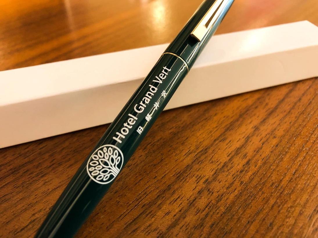 感染対策として、チェックイン時のご登録は、お客様ごとに消毒済みのボールペンで、ご記入いただきます。