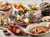 冬の地魚料理 ボリューム・質ともに自信のコースです