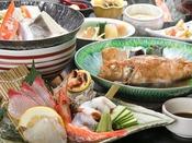 冬の「三国の地魚料理」。お得に海の幸をお楽しみください