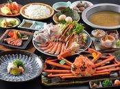 まさに福井の高級食材のオールスター「福井 冬の厳選料理」