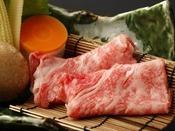 夏会席「月舟」:小鍋:和牛しゃぶ。和牛ならではの旨みを引き出す、料理長秘伝の出汁でご賞味くださいませ(画像一例)