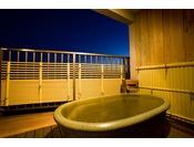 和モダンツイン・露天風呂付客室の一例