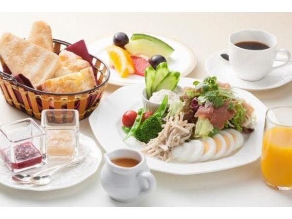 *ご朝食一例サラダブレックファースト