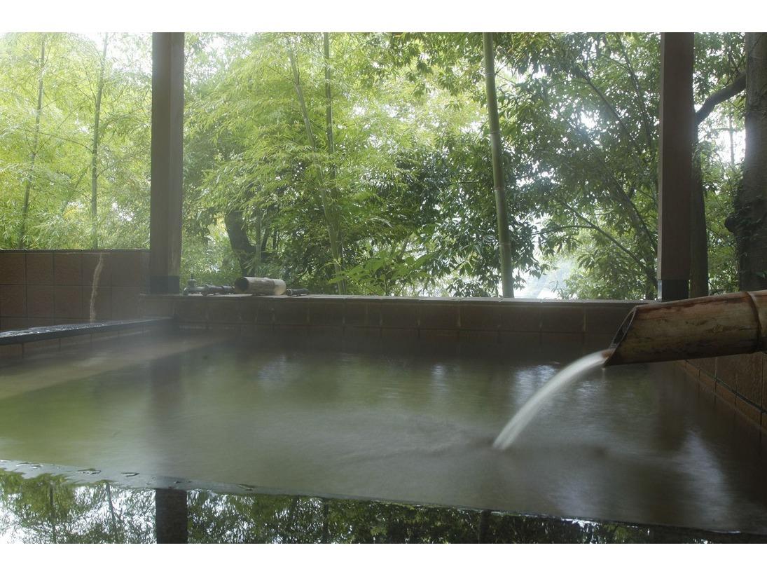 富士見屋の露天付き貸切り風呂の一例