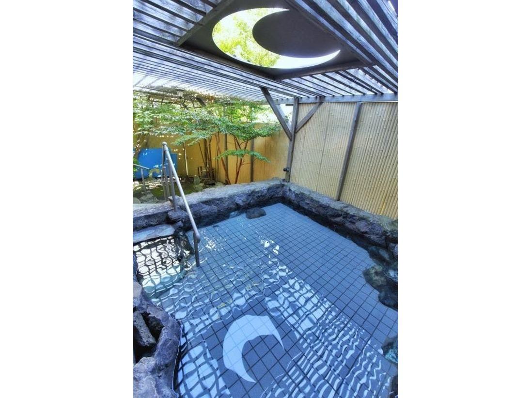 庭園露天風呂「雫」