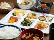 朝食(和食取り分けイメージ)