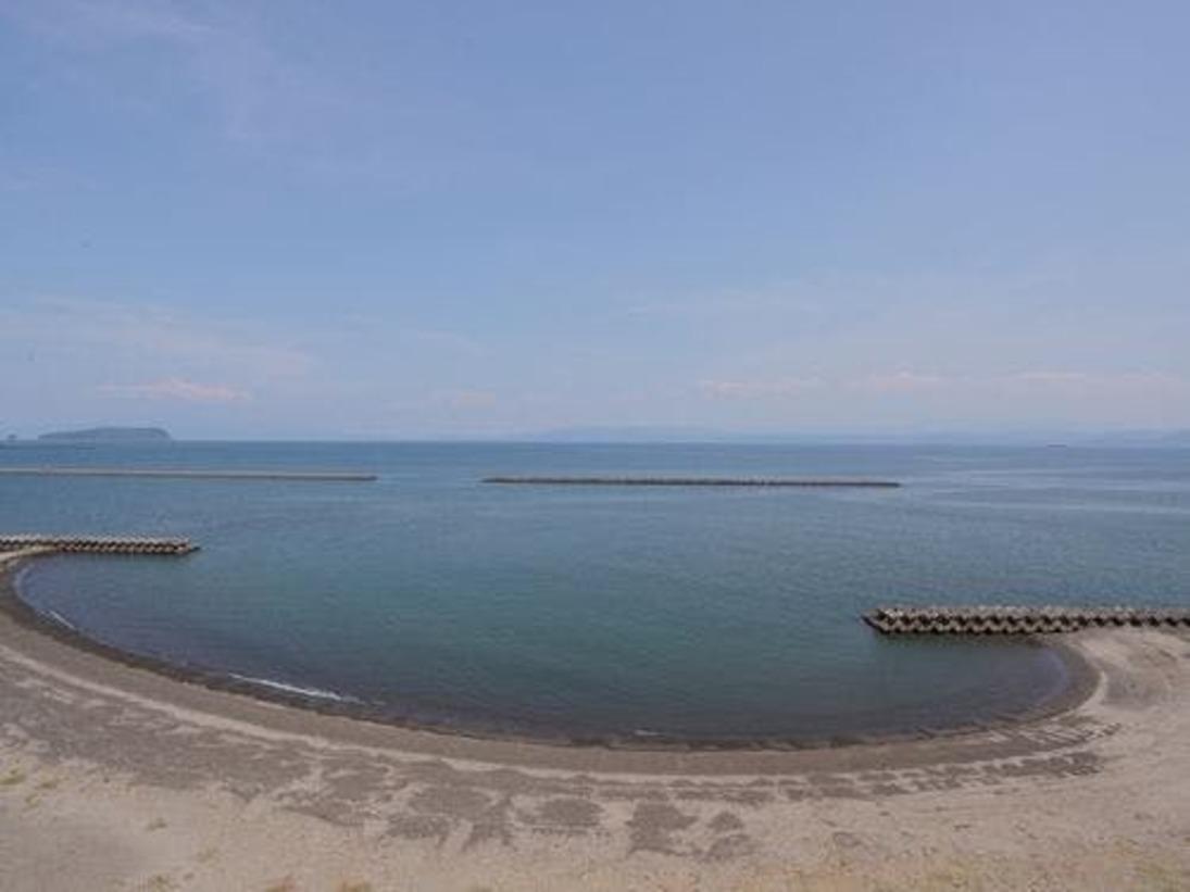 海向き側の客室からは 鹿児島錦江湾を眺める事が出来ます