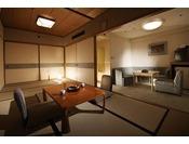 『飛泉閣』の和室(一例)