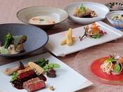 【グルマン橘/B1F】料理イメージ京都産野菜や季節の食材を美しく仕上げたフランス料理