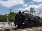 【京都鉄道博物館】走る蒸気機関車が見られるのも大きな特徴です。