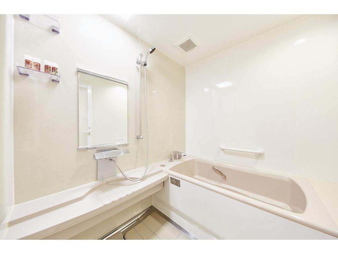 ダブル・ツインルームのバスルーム