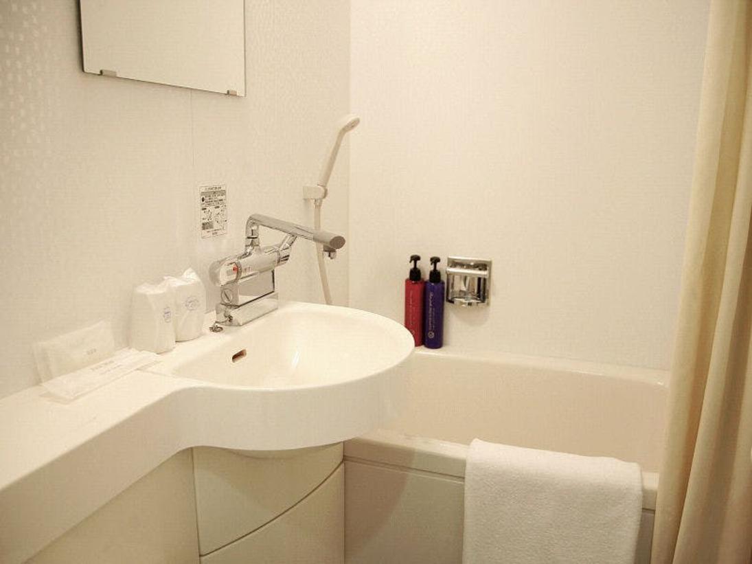 【ユニットバス】清潔感溢れるバス・トイレ(ウォシュレット)