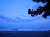 今井浜海岸 朝