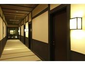 【館内】1階客室前回廊