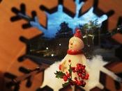 【館内】クリスマス。