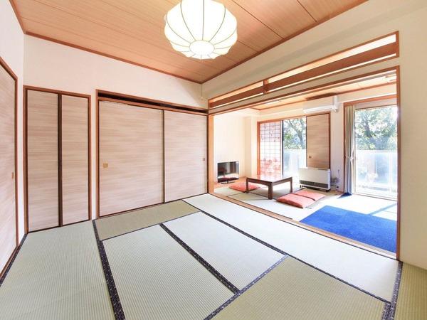 【お部屋】和室48平米・二間