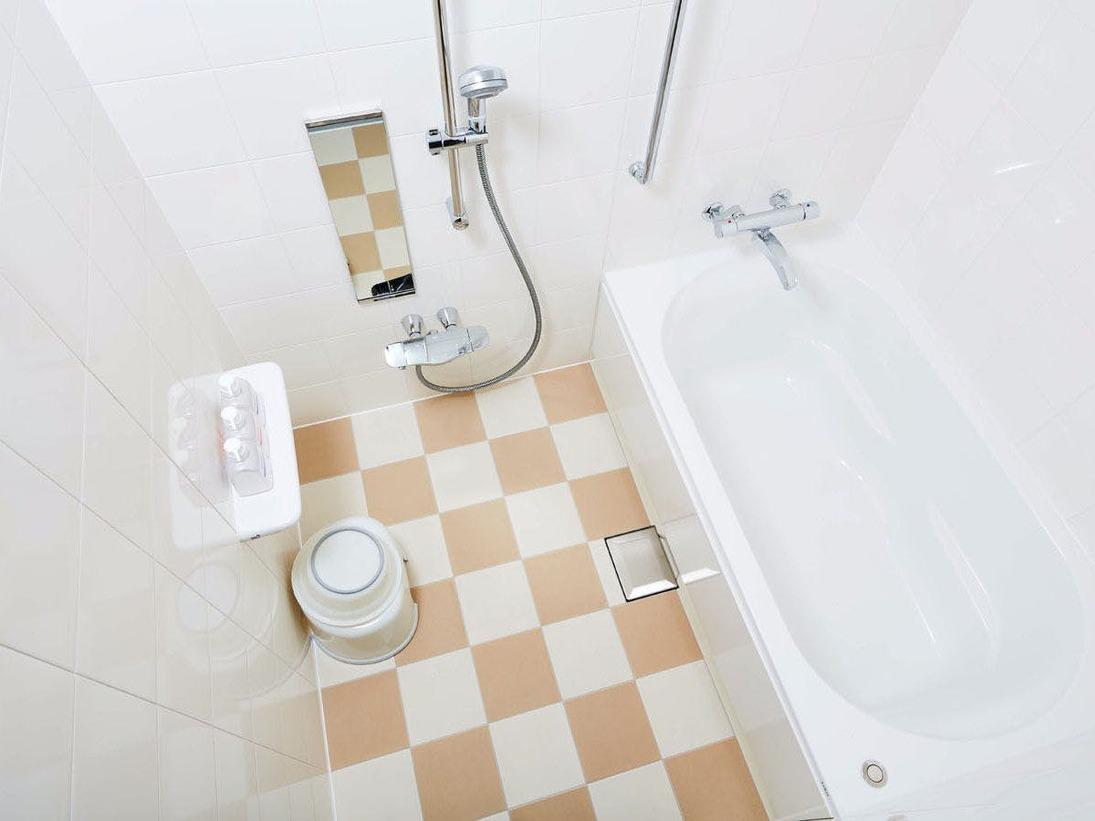 【エミオンスクエア】バスルーム(スクエアフォースルーム)