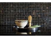 【お抹茶セット】~ 全室ご用意ございます ~  ※無料