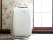 加湿機能付き空気清浄機(全室)