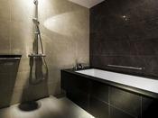 【ラグジュアリーツイン】洗い場付きの広々としたバスルーム(一例)