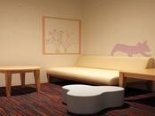 【授乳室/1F】電子レンジ完備、個室で安心してご利用できます。