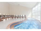 【温泉大浴場】開放感のある温泉大浴場『ぶなの湯』 [営業時間]5:00~24:00