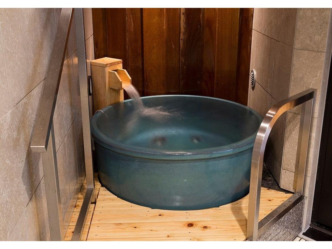 水風呂(女性大浴場)温度/16℃