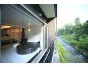 お部屋から・・・・露天風呂から・・・・大自然の風景は最高です。