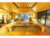 【大浴場】当館自慢の湯殿をお愉しみ下さい。Indoor bath