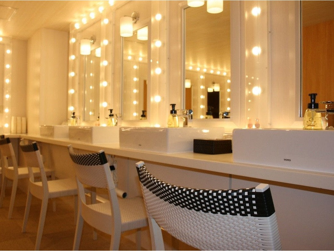 [女性用]クラブハウス大浴場-更衣室- ※17時迄のご利用となります