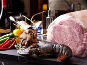 【夕食】鉄板焼きディナー/こだわりの食材を使用した鉄板焼きならではの魅力をご堪能ください※イメージ
