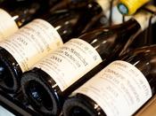 【夕食】甲州ワインをはじめ、国内外ワインを80種ほど取り揃えております※イメージ