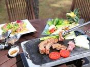 ≪外でバーベキュー!≫庭園レストラン『フォレストガーデン』でBBQを♪(夏季限定)※イメージ