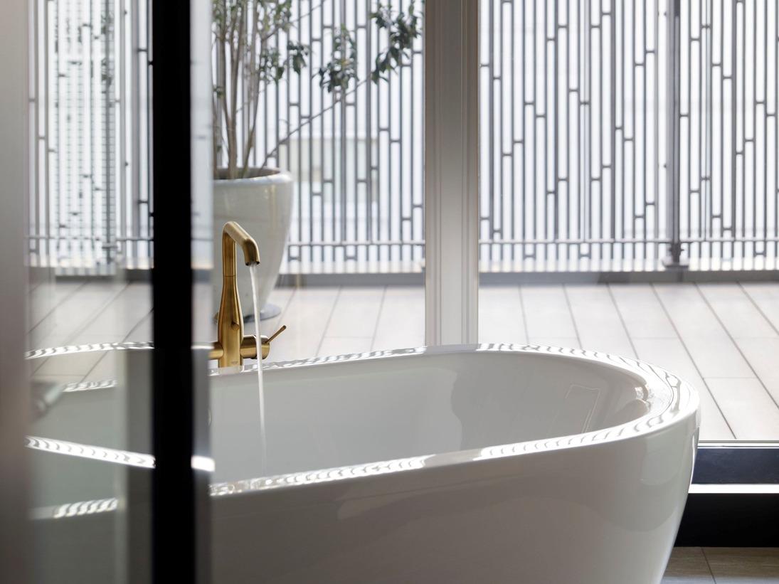 【河原町テラススイート】バスルーム※写真は一例