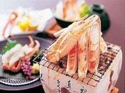 【焼き蟹】 蟹の香ばしさが広がります!モチロン味も大満足♪