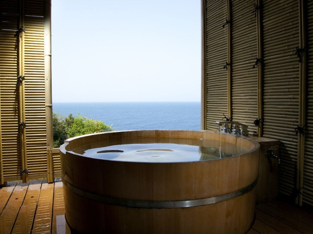 露天風呂付き特別室(一例)