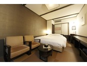 【客室】和風ダブル。21.6平米・Double room type