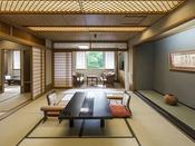 【スペシャルルーム】11階特別フロアに3室のみ設えた客室。和室または和洋室へご案内します(写真は和室)