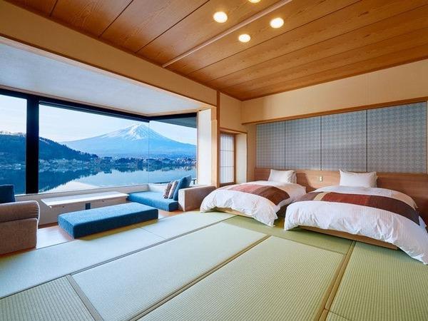 お部屋にいながら富士山