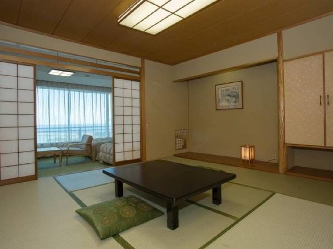 スタンダード和洋室の一例です。